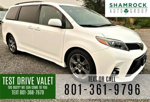 2018 Toyota Sienna for sale at Shamrock Group LLC #1 in Pleasant Grove UT