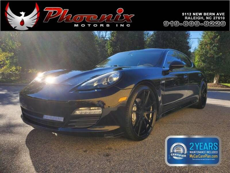 2012 Porsche Panamera for sale at Phoenix Motors Inc in Raleigh NC