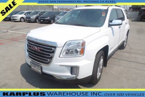 2016 GMC Terrain for sale at Karplus Warehouse in Pacoima CA