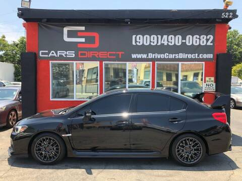 2016 Subaru WRX for sale at Cars Direct in Ontario CA
