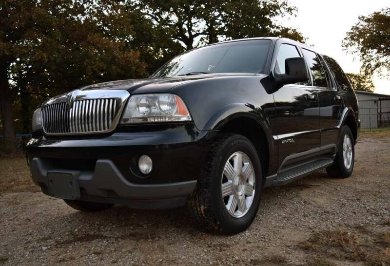 2005 Lincoln Aviator for sale at BriansPlace in Lipan TX