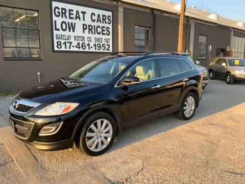 2010 Mazda CX-9 for sale at BARCLAY MOTOR COMPANY in Arlington TX