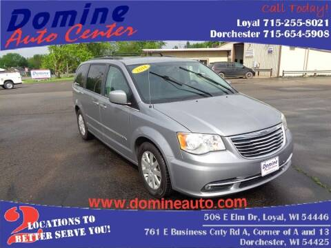 2014 Chrysler Town and Country for sale at Domine Auto Center in Loyal WI