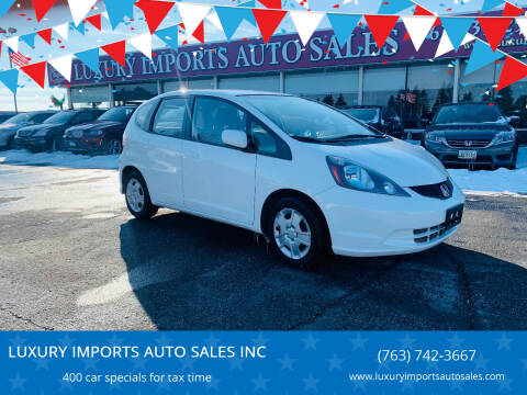 2013 Honda Fit for sale at LUXURY IMPORTS AUTO SALES INC in North Branch MN