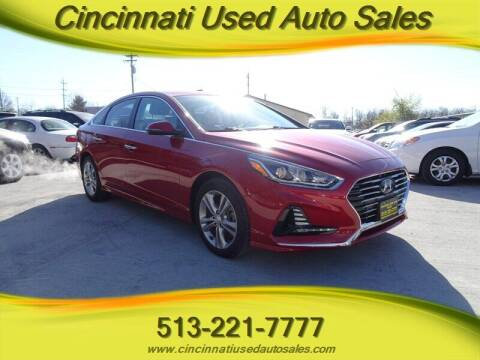 2018 Hyundai Sonata for sale at Cincinnati Used Auto Sales in Cincinnati OH