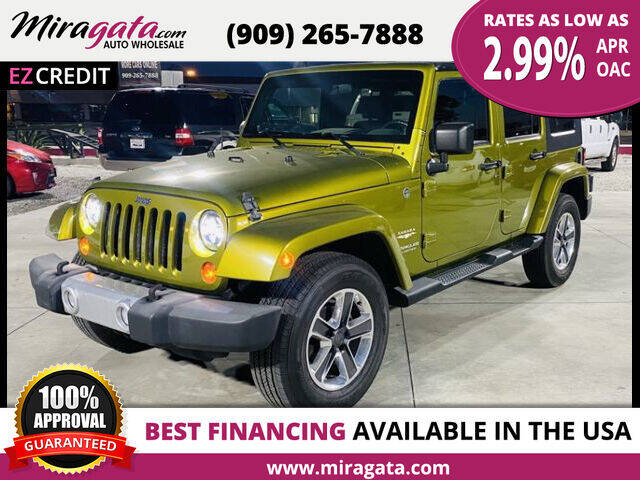 2008 Jeep Wrangler Unlimited for sale at Miragata Auto in Bloomington CA