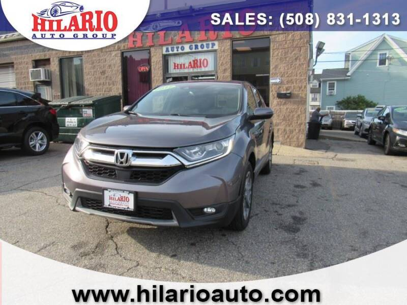 2017 Honda CR-V for sale at Hilario's Auto Sales in Worcester MA