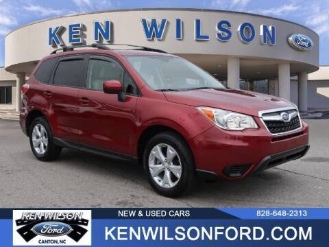 2015 Subaru Forester for sale at Ken Wilson Ford in Canton NC