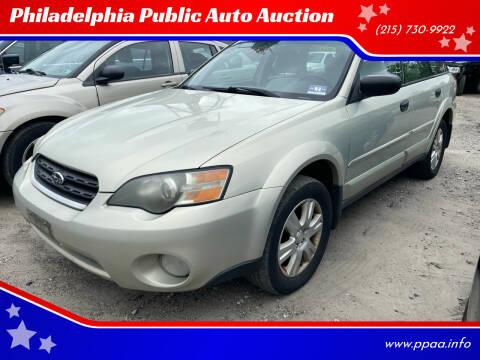2005 Subaru Outback for sale at Philadelphia Public Auto Auction in Philadelphia PA