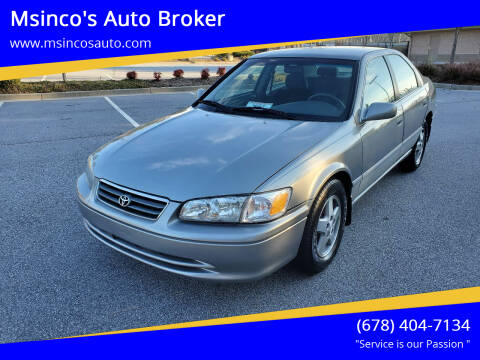 2001 Toyota Camry for sale at Msinco's Auto Broker in Snellville GA