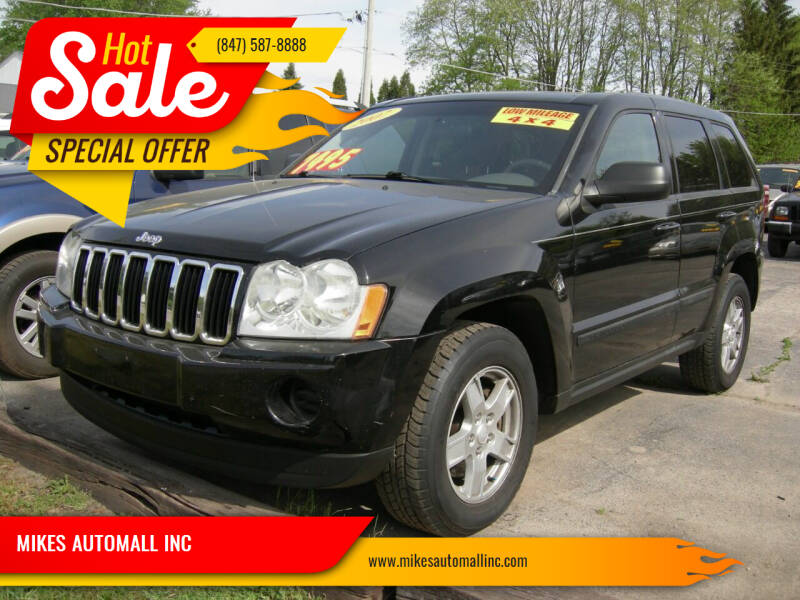2007 Jeep Grand Cherokee for sale at MIKES AUTOMALL INC in Ingleside IL