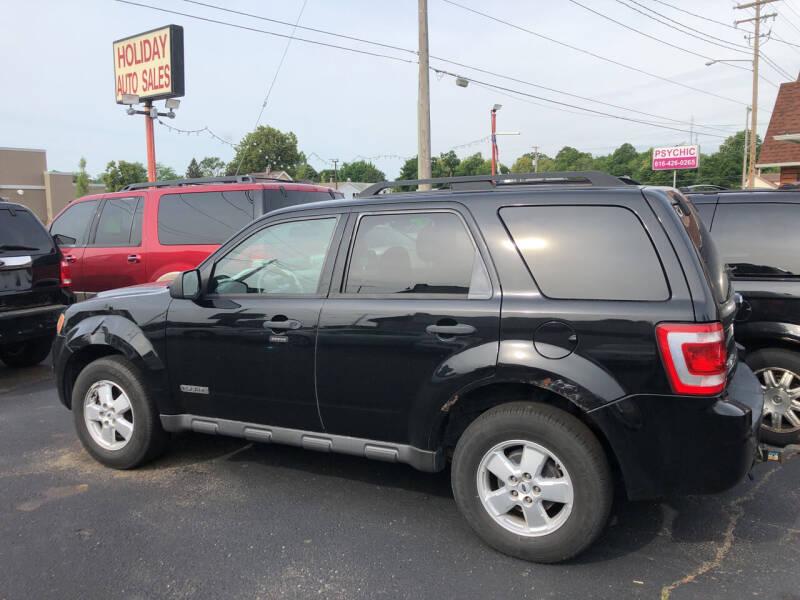 2008 Ford Escape for sale at Holiday Auto Sales in Grand Rapids MI