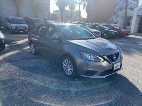 2018 Nissan Sentra for sale at In-House Auto Finance in Hawthorne CA