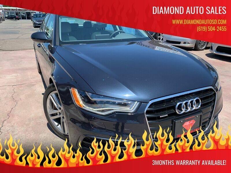 2012 Audi A6 for sale at DIAMOND AUTO SALES in El Cajon CA