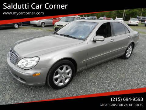2005 Mercedes-Benz S-Class for sale at Saldutti Car Corner in Gilbertsville PA