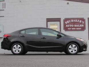 2017 Kia Forte for sale at Brubakers Auto Sales in Myerstown PA