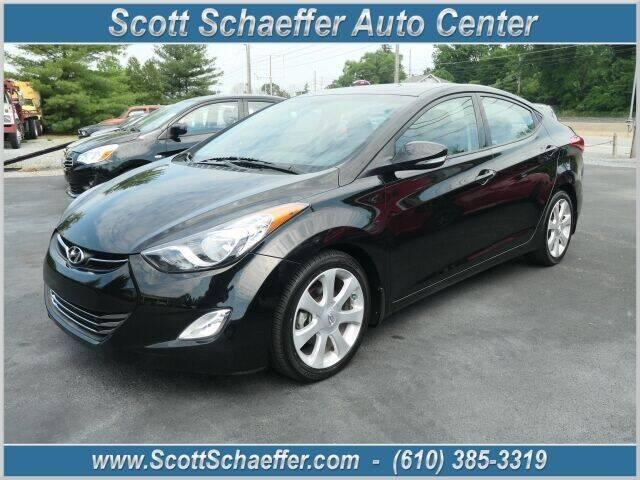 2013 Hyundai Elantra for sale at Scott Schaeffer Auto Center in Birdsboro PA
