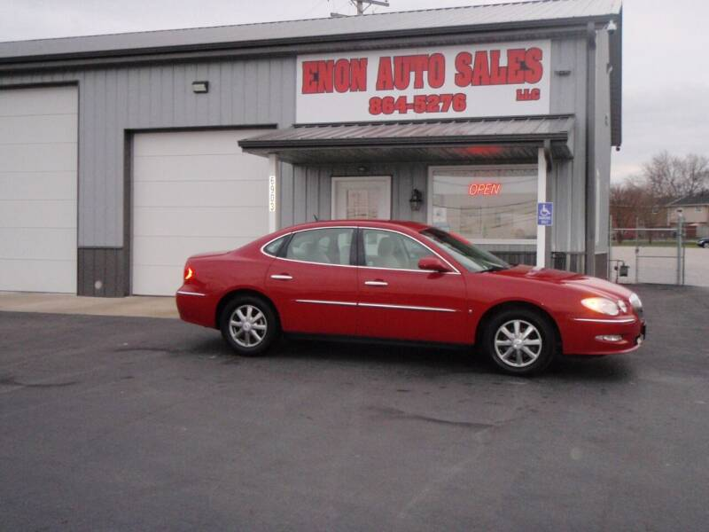 2008 Buick LaCrosse for sale at ENON AUTO SALES in Enon OH