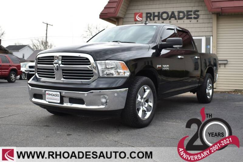 2016 RAM Ram Pickup 1500 for sale at Rhoades Automotive in Columbia City IN