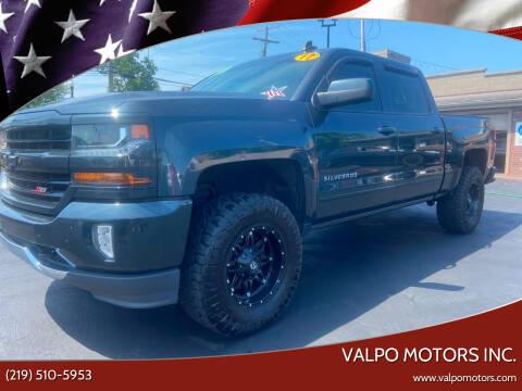 2017 Chevrolet Silverado 1500 for sale at Valpo Motors Inc. in Valparaiso IN
