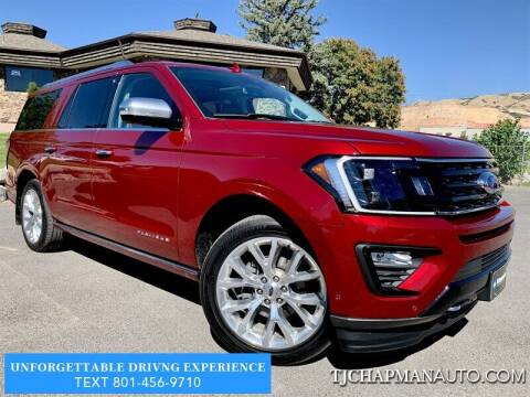 2018 Ford Expedition MAX for sale at TJ Chapman Auto in Salt Lake City UT
