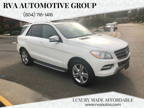 2015 Mercedes-Benz M-Class for sale at RVA Automotive Group in North Chesterfield VA