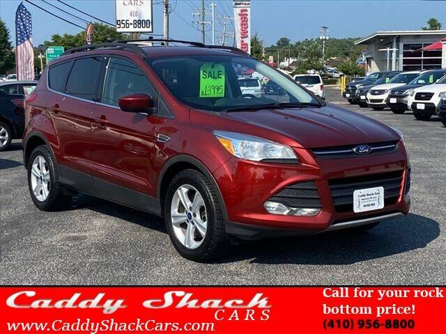 2016 Ford Escape for sale at CADDY SHACK CARS in Edgewater MD