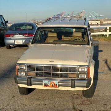 1986 Jeep Wagoneer for sale at Classic Car Deals in Cadillac MI