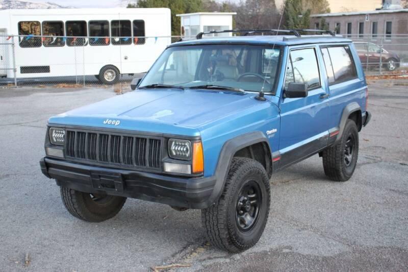 1993 Jeep Cherokee for sale at Motor City Idaho in Pocatello ID