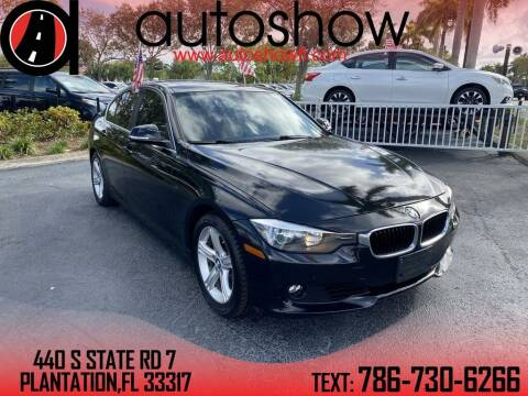 2015 BMW 3 Series for sale at AUTOSHOW SALES & SERVICE in Plantation FL