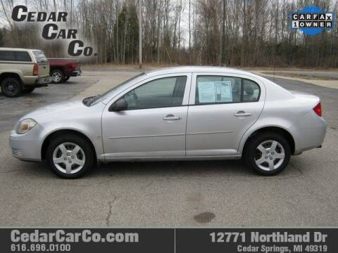 2008 Chevrolet Cobalt for sale at Cedar Car Co in Cedar Springs MI