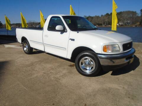 1998 Ford F-150 for sale at Lake Carroll Auto Sales in Carrollton GA