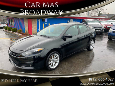 2013 Dodge Dart for sale at Car Mas Broadway in Crest Hill IL
