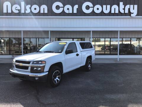 2012 Chevrolet Colorado for sale at Nelson Car Country in Bixby OK