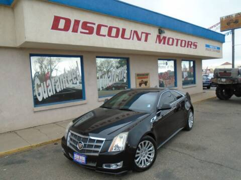 2011 Cadillac CTS for sale at Discount Motors in Pueblo CO