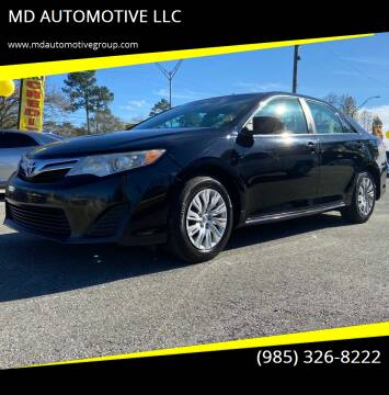 2014 Toyota Camry for sale at MD AUTOMOTIVE LLC in Slidell LA