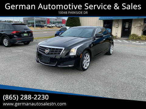 2014 Cadillac ATS for sale at German Automotive Service & Sales in Knoxville TN