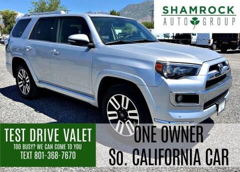 2016 Toyota 4Runner for sale at Shamrock Group LLC #1 in Pleasant Grove UT