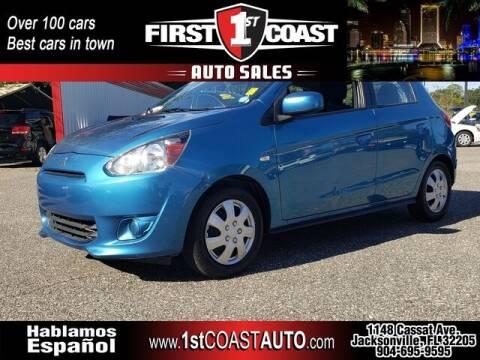 2015 Mitsubishi Mirage for sale at 1st Coast Auto -Cassat Avenue in Jacksonville FL