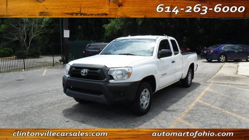 2015 Toyota Tacoma for sale at Clintonville Car Sales - AutoMart of Ohio in Columbus OH