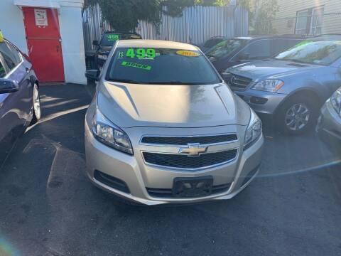 2013 Chevrolet Malibu for sale at Best Cars R Us LLC in Irvington NJ