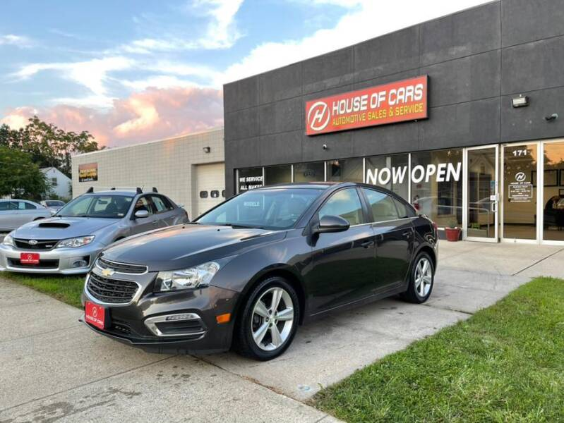 2015 Chevrolet Cruze for sale at HOUSE OF CARS CT in Meriden CT