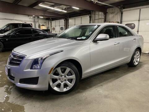 2014 Cadillac ATS for sale at Sonias Auto Sales in Worcester MA