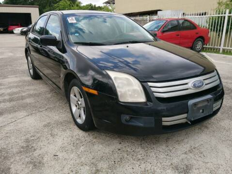 2007 Ford Fusion for sale at TEXAS MOTOR CARS in Houston TX