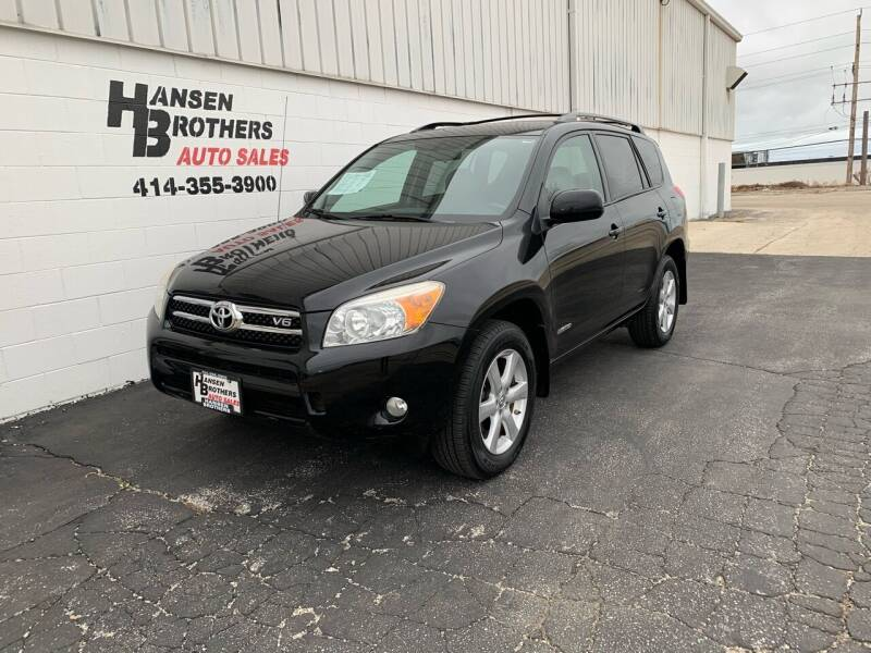 2008 Toyota RAV4 for sale at HANSEN BROTHERS AUTO SALES in Milwaukee WI