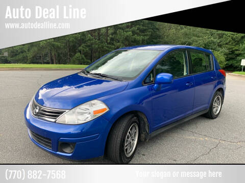 2011 Nissan Versa for sale at Auto Deal Line in Alpharetta GA