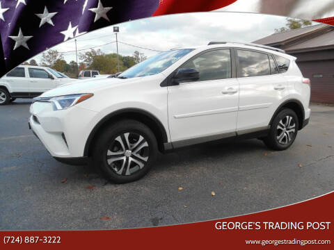 2017 Toyota RAV4 for sale at GEORGE'S TRADING POST in Scottdale PA