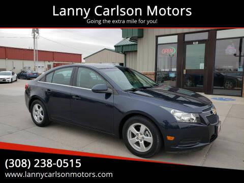 2014 Chevrolet Cruze for sale at Lanny Carlson Motors in Kearney NE