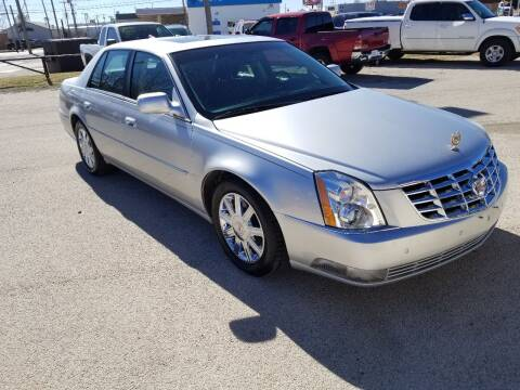 2011 Cadillac DTS for sale at Key City Motors in Abilene TX