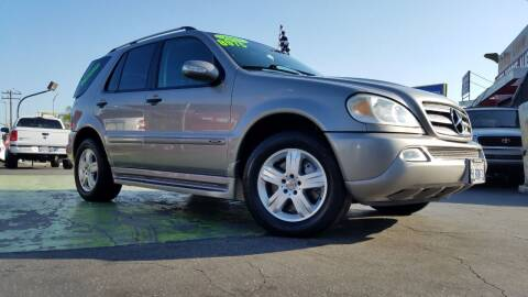 2005 Mercedes-Benz M-Class for sale at Pauls Auto in Whittier CA